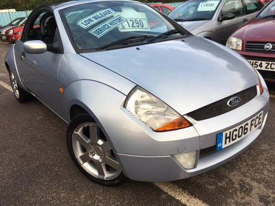 Ford Streetka Convertible 1.6 ICE 2dr