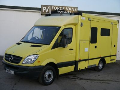Mercedes-Benz SPRINTER 515 Unlisted MERCEDES SPRINTER 515 AUTO AMBULANCE FRONTLINE CAMPER MOTORHOME CONVERSION VAN