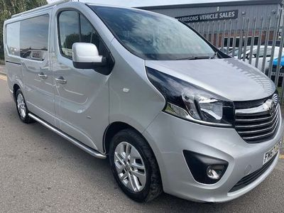 Vauxhall Vivaro Other 1.6 CDTi 2900 BiTurbo ecoTEC Sportive Crew Van L1 H1 EU6 (s/s) 5dr (6 Seat)