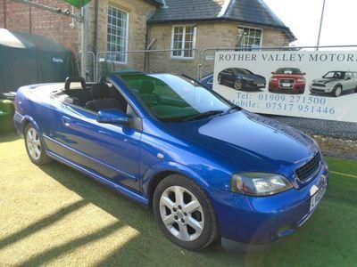 Vauxhall Astra Convertible 1.8 i 16v 2dr