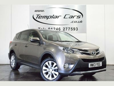 Toyota RAV4 SUV 2.2 D-4D Icon 4WD 5dr