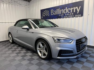 Audi A5 Cabriolet Convertible 2.0 TFSI S line Cabriolet S Tronic (s/s) 2dr