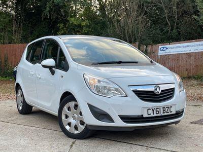 Vauxhall Meriva MPV 1.7 CDTi Exclusiv 5dr (a/c)