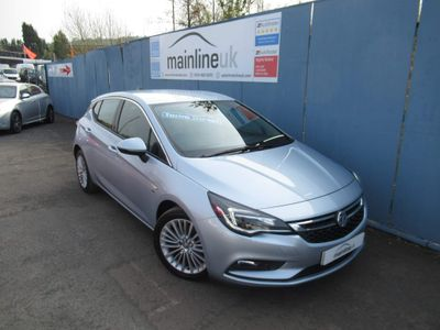 Vauxhall Astra Hatchback 1.6 CDTi ecoTEC BlueInjection Elite Nav 5dr