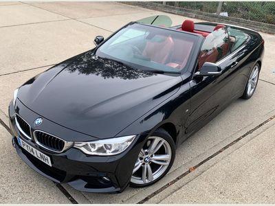 BMW 4 Series Convertible 2.0 420d M Sport 2dr