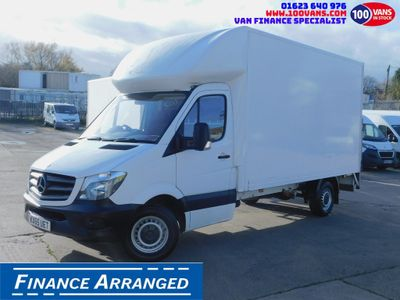 Mercedes-Benz Sprinter Luton DEPOSIT TAKEN