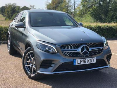 Mercedes-Benz GLC Class Coupe 2.1 GLC250d AMG Line (Premium) G-Tronic+ 4MATIC (s/s) 5dr