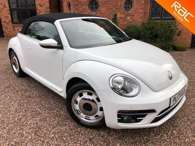 Volkswagen Beetle Convertible 1.4 TSI BlueMotion Tech Design Cabriolet (s/s) 2dr