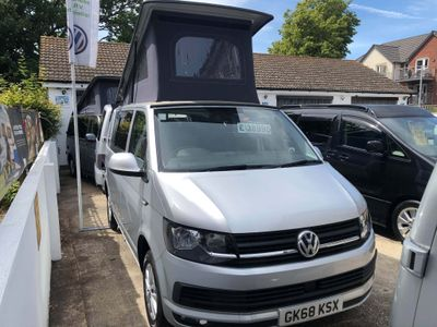 Volkswagen Transporter Campervan T6 Camper Van SWB AIr Con Bluemotion T28 Highline