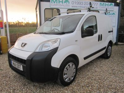 Peugeot Bipper Panel Van 1.4 HDi 8v S Class II Panel Van 3dr