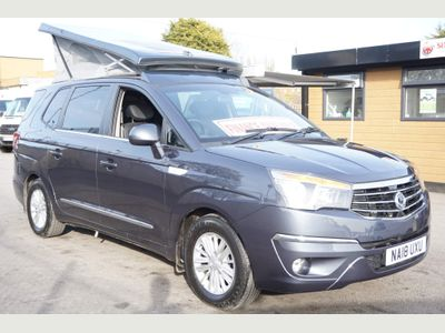 SsangYong TURISMO 2.2D EX 4X4 Automatic Van Conversion Camper