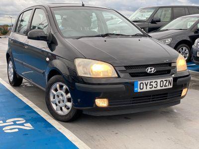 Hyundai Getz Hatchback 1.3 CDX 5dr