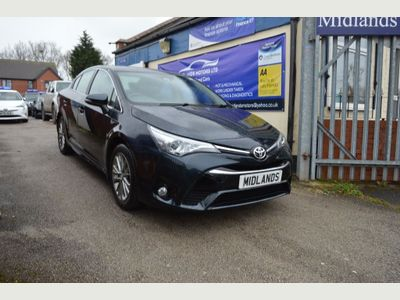 Toyota Avensis Saloon 1.8 V-matic Business Edition CVT 4dr