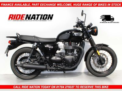 Triumph Bonneville Roadster/Retro 900 T100 Black