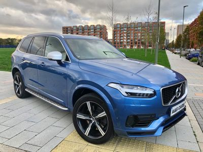 Volvo XC90 SUV 2.0h T8 Twin Engine 9.2kWh R-Design Auto 4WD (s/s) 5dr