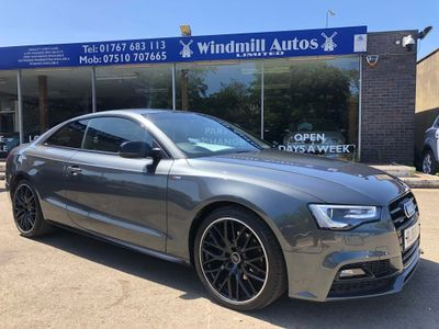 Audi A5 Coupe 2.0 TDI Black Edition Plus S Tronic quattro (s/s) 2dr