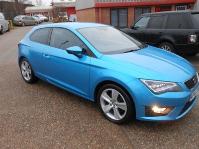 SEAT Leon Hatchback 1.8 TSI FR (Tech Pack) SportCoupe DSG (s/s) 3dr