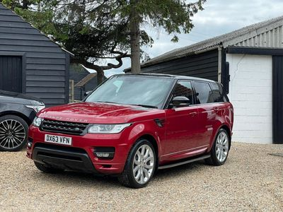Land Rover Range Rover Sport SUV 4.4 SD V8 Autobiography Dynamic 4X4 5dr