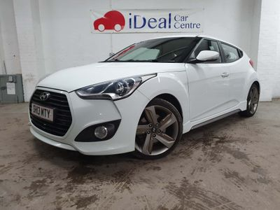 Hyundai Veloster Coupe 1.6 T-GDi Turbo SE 4dr (Panoromic Roof)