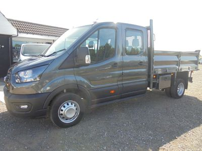 Ford Transit Tipper 2.0 350 EcoBlue Leader Double Cab Chassis Cab RWD L3 EU6 (s/s) 4dr