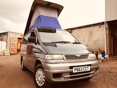 Mazda BONGO AFT 4 BERTH REAR FACTORY KITCHEN Campervan