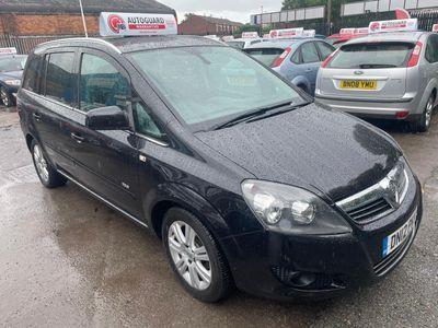 Vauxhall Zafira MPV 1.7 TD Design 5dr