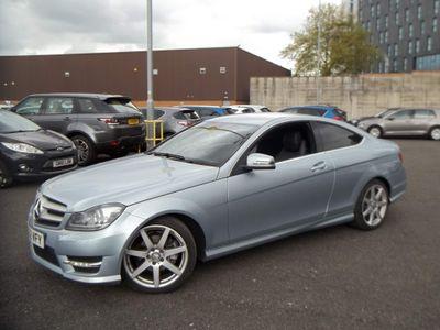 Mercedes-Benz C Class Coupe 1.6 C180 BlueEFFICIENCY AMG Sport Sport Coupe 7G-Tronic Plus 2dr