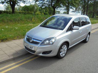 Vauxhall Zafira MPV 1.6 i VVT 16v Design 5dr (nav)