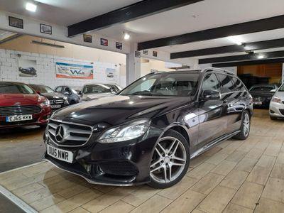 Mercedes-Benz E Class Estate 2.1 E300dh BlueTEC AMG Line (Premium) 7G-Tronic Plus 5dr
