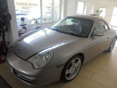 Porsche 911 Convertible 3.4 996 Carrera 4 Cabriolet Tiptronic S AWD 2dr