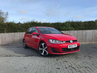 VOLKSWAGEN GOLF Hatchback 2.0 TSI BlueMotion Tech GTI (Performance pack) (s/s) 5dr