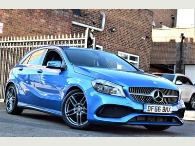 Mercedes-Benz A Class Hatchback 1.6 A160 AMG Line (Executive) (s/s) 5dr