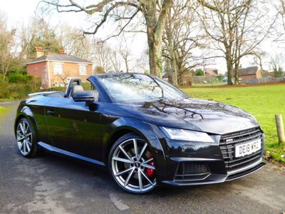 Audi TTS Convertible 2.0 TFSI Black Edition Roadster S Tronic quattro (s/s) 2dr