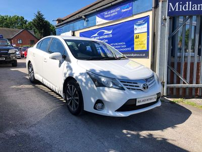 Toyota Avensis Saloon 2.0 D-4D Icon Business Edition 4dr