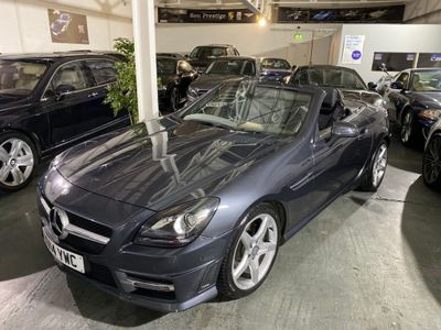 Mercedes-Benz SLK Convertible 3.5 SLK350 BlueEFFICIENCY AMG Sport 7G-Tronic Plus (s/s) 2dr