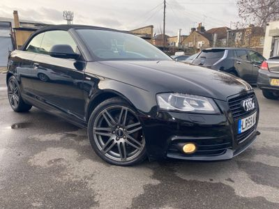 Audi A3 Cabriolet Convertible 1.8 TFSI Black Edition S Tronic 2dr