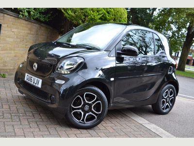 Smart fortwo Coupe 1.0 Prime Twinamic (s/s) 2dr