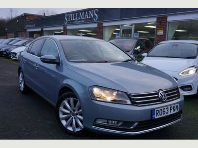 Volkswagen Passat Saloon 1.6 TDI BlueMotion Tech Highline (s/s) 4dr