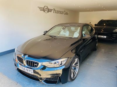 BMW M4 Convertible 3.0 BiTurbo GPF (s/s) 2dr