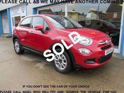 Fiat 500X SUV 1.6 E-Torq Pop Plus 5dr