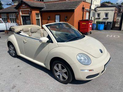 Volkswagen Beetle Convertible 1.4 16V Luna Cabriolet 2dr