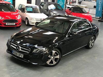 Mercedes-Benz E Class Saloon 2.0 E220d SE G-Tronic+ (s/s) 4dr