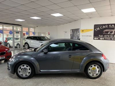 Volkswagen Beetle Hatchback 2.0 TDI BlueMotion Tech Design DSG (s/s) 3dr