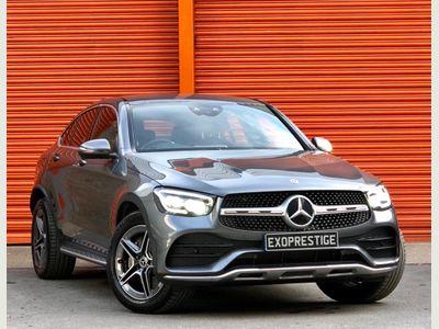 Mercedes-Benz GLC Class Coupe 3.0 GLC400d AMG Line (Premium Plus) G-Tronic+ 4MATIC (s/s) 5dr