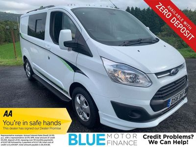 FORD TRANSIT CUSTOM Panel Van CAMPER 2.2 TDCi