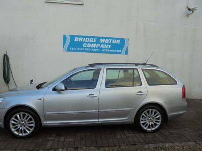 SKODA Octavia Estate 1.8 TSI Laurin & Klement DSG 5dr