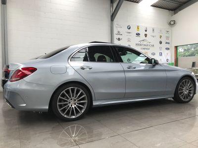 Mercedes-Benz C Class Saloon 2.0 C200 AMG Line (Premium) 7G-Tronic+ (s/s) 4dr