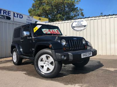 JEEP WRANGLER Convertible 2.8 CRD Ultimate Soft top 4x4 2dr