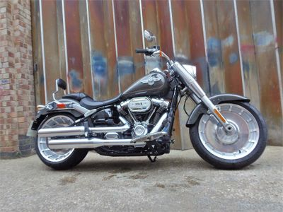 Harley-Davidson Softail Custom Cruiser 1870 Fat Boy 114