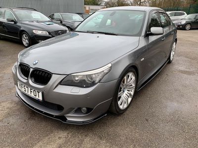 BMW 5 Series Saloon 3.0 525d M Sport 4dr